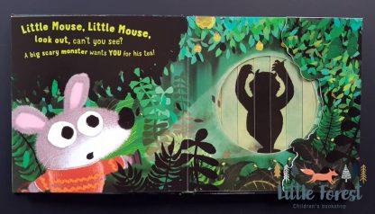 najlepsza książka po angielsku dla dzieci sensoryczna zmieniające się ilustracje