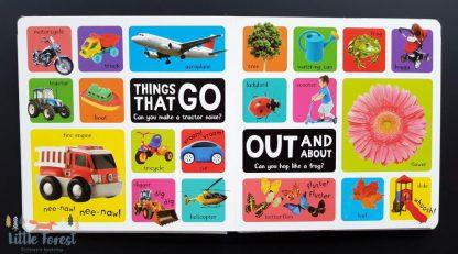 pierwszy słownik obrazkowy dla dzieci po angielsku