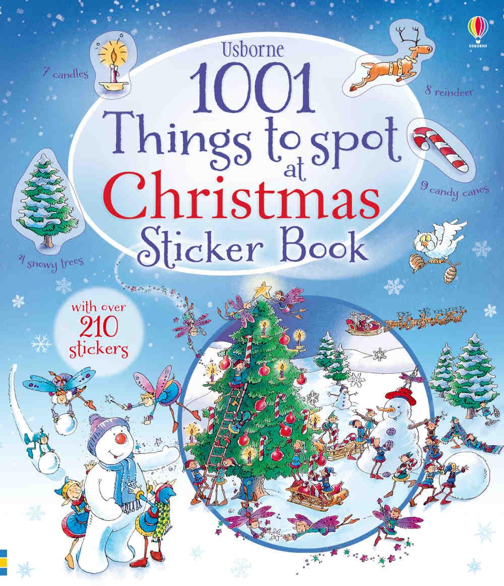 książka ćwiczenia dla dzieci po angielsku na boże narodzenie z naklejkami