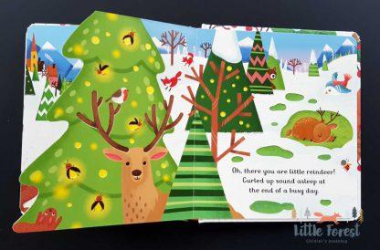 książeczka dotykowa dla dzieci po angielsku na boże narodzenie