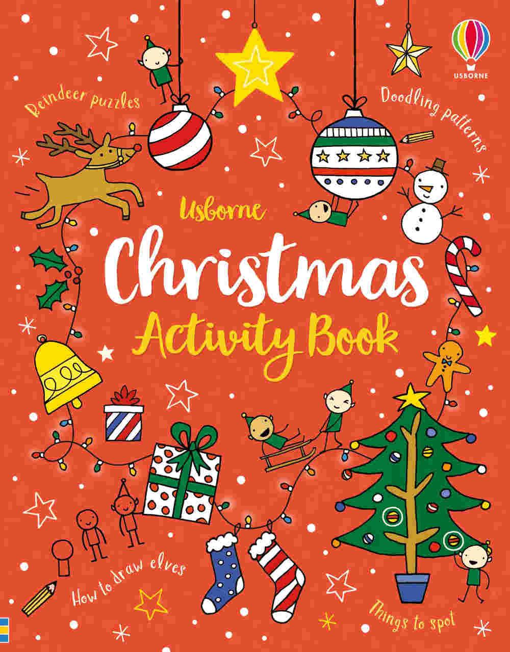 święta książeczki z zadaniami dla dzieci po angielsku