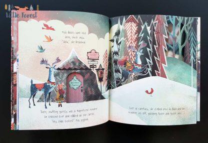 sensoryczna książka dla dzieci po angielsku na święta bożego narodzenia