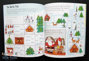 książka ćwiczenia dla dzieci po angielsku na boże narodzenie