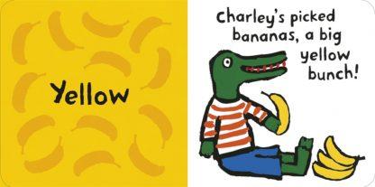 książka do nauki koloró dla dzieci po angielsku