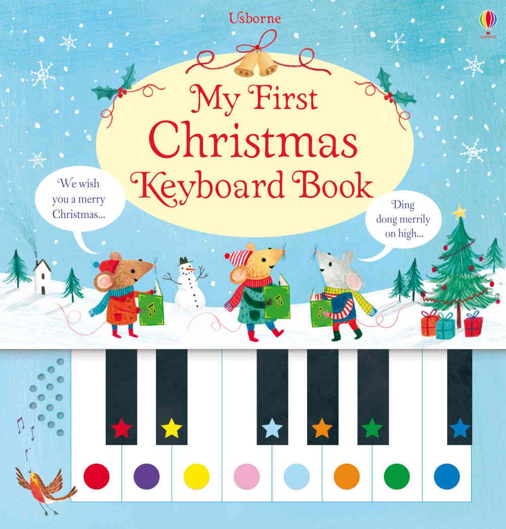 książka z pianinkiem dla dzieci po angielsku na boże narodzenie i święta