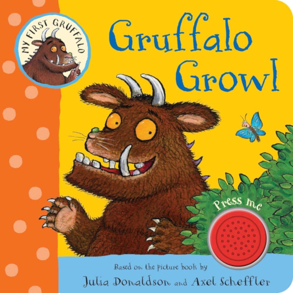 książka dźwiękowa dla dzieci po angielsku gruffalo