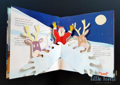 książka dla dzieci na boże narodzenie po angielsku trójwymiarowa