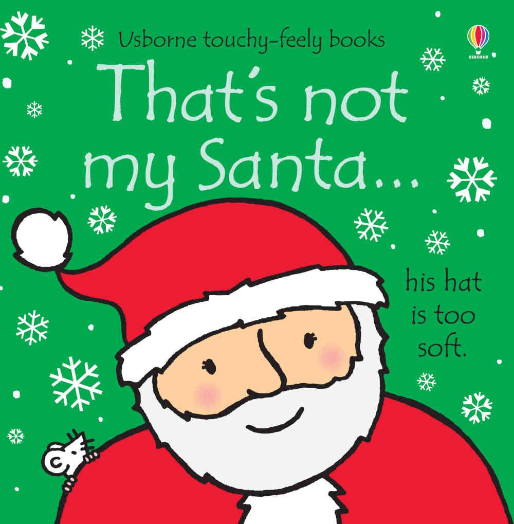 sensoryczna książeczka dla dzieci po angielsku na święta o mikołaju