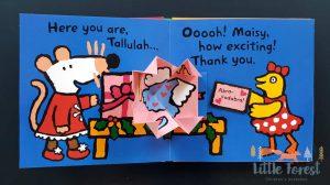 książka trójwymiarowa 3D dla dzieci po angielsku na święta i mikołaja
