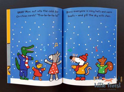 książka z naklejkami dla dzieci na święta po angielsku