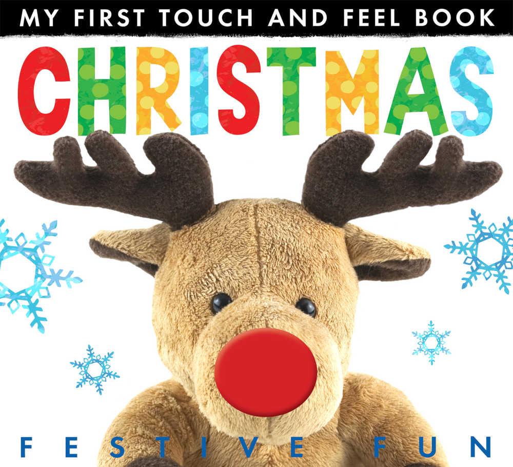 książeczka dotykowa dla dzieci po angielsku na święta
