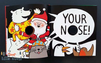 książka dotykowa dla dzieci po angielsku na święta bożego narodzenia
