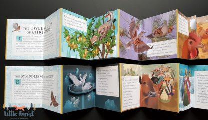 książka rozkładanka świąteczna dla dzieci po angielsku