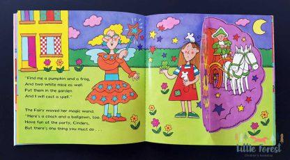 bajka dla dzieci kopciuszek po angielsku z audiobookiem