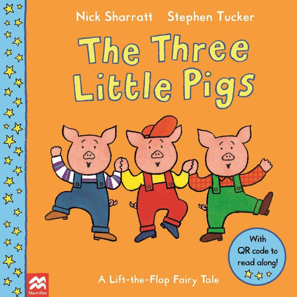 trzy świnki po angielsku książka dla dzieci