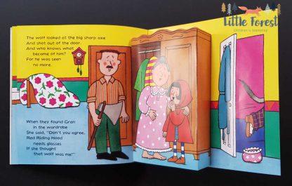 książka dla dzieci czerwony kapturek z audiobookiem