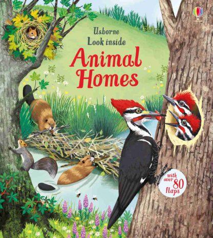książka dla dzieci o zwierzętach z okienkami po angielsku