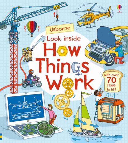 książka edukacyjna z okienkami dla dzieci