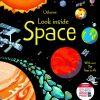książka o kosmosie dla dzieci z okienkami po angielsku