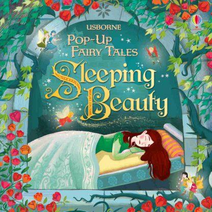 Śpiąca królewna książka trójwymiarowa dla dzieci po angielsku