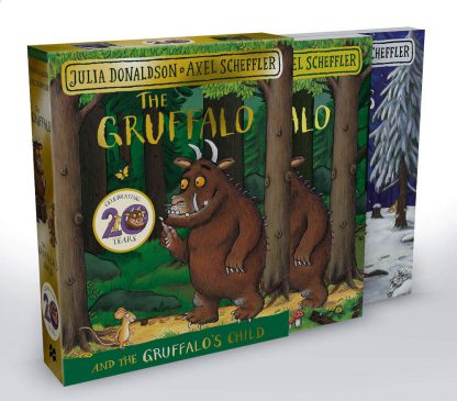 the gruffalo zestaw 2 książek