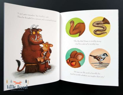 książka bajka dla dzieci do czytania the gruffalo julia donaldson