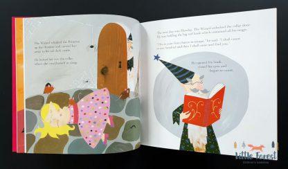 bajka do czytania dla dziewczynek o księżniczce po angielsku