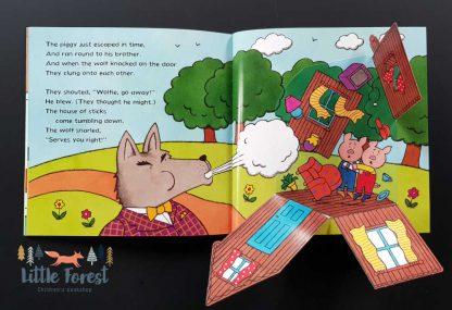 książka dla dzieci trzy małe świnki po angielsku z audiobookiem