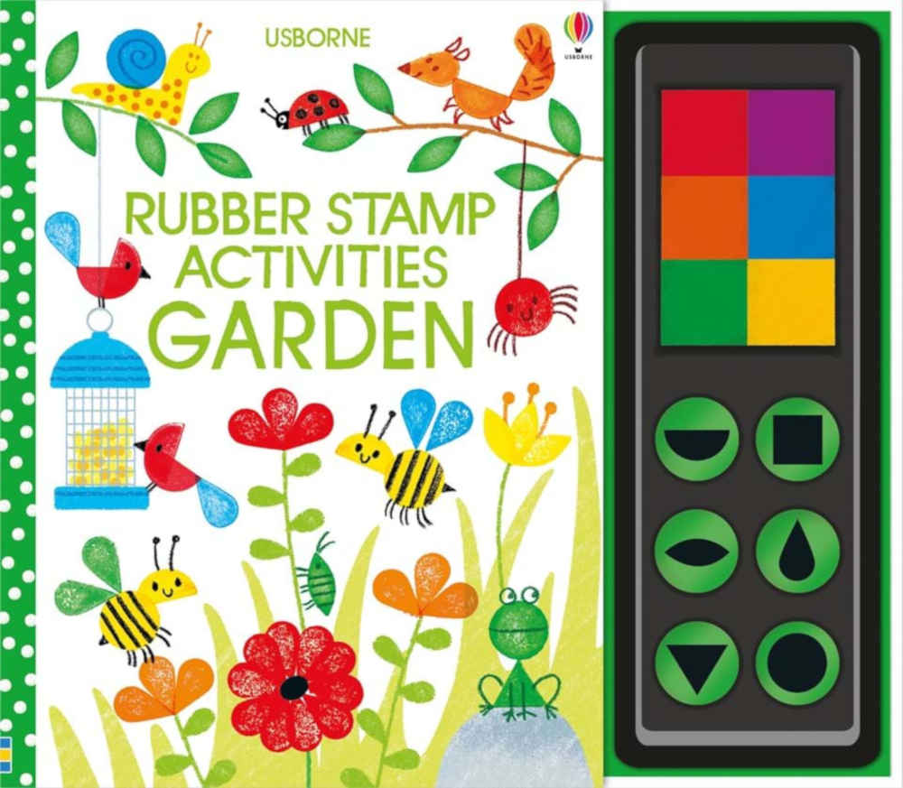 książka kreatywna dla dzieci ze stempelkami