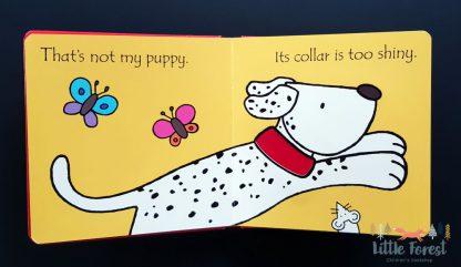 książka dotykowa dla dzieci z serii Thet's not my wydawnictwa usborne