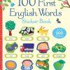ksiązka z naklejkami po angielsku usborne