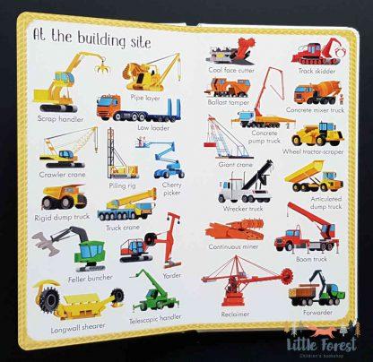 słownik obrazkowy dla dzieci po angielsku pojazdy