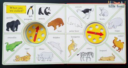 interaktywna książka dla dzieci po angielsku kochane zoo rod campbell