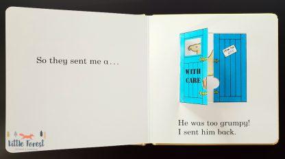 książka z okienkami kochane zoo roda campbell po angielsku