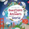 edukacyjna książka dla dzieci z okienkami o świecie po angielsku