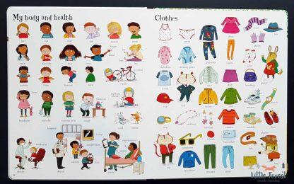 obrazkowy słownik dla dzieci do nauki angielskiego usborne