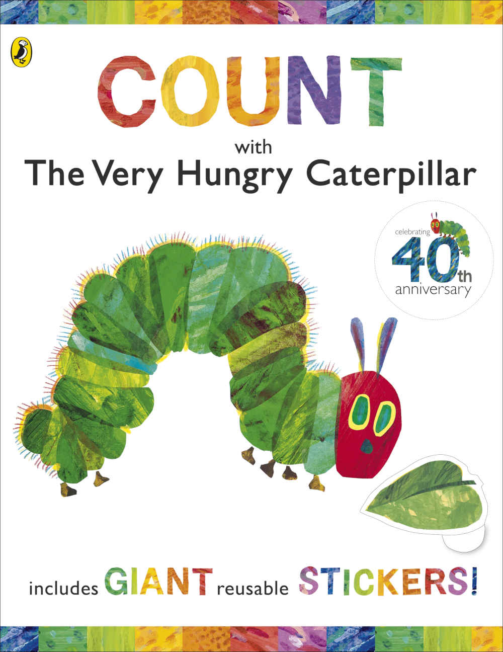 bardzo głodna gąsienica książka z naklejkami po angielsku