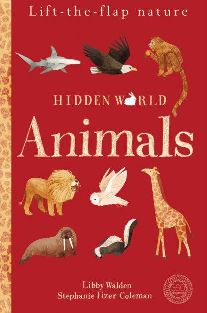 edukacyjna książka dla dzieci o zwierzętach po angielsku z okienkami