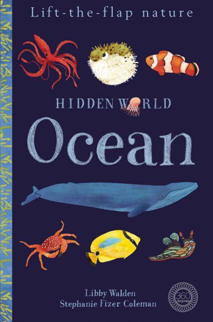 edukacyjna książka dla dzieci o zwierzętach oceanu po angielsku