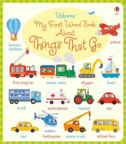 pierwszy obrazkowy słownik dla dzieci do nauki angielskiego pojazdy