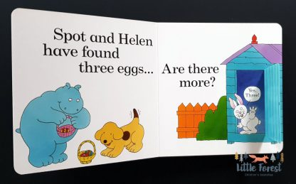książka o psie spot na wielkanoc po angielsku