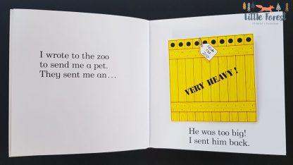 kochane zoo książka trójwymiarowa rod cambpell