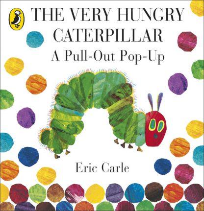 bardzo głodna gąsienica książka 3D harmonijka po angielsku