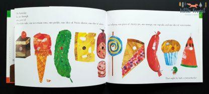 bardzo głodna gąsienica po angielsku z cd audiobook eric carle