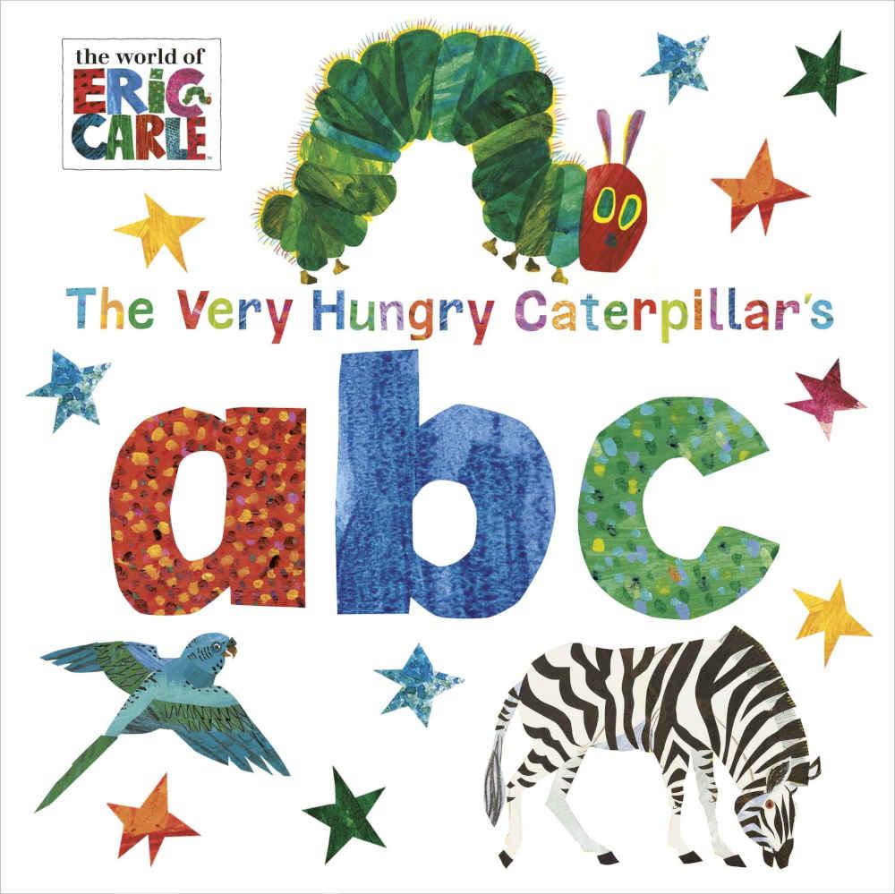 bardzo głodna gąsienica książka do nauki alfabetu po angielsku eric carle