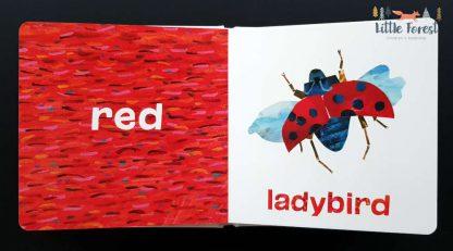 eric carle książeczka do nauki kolorów po angielsku na wielkanoc