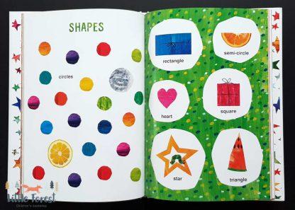 pierwszy słownik obrazkowy eric carle dla dzieci po angielsku z ilustracjami eric carle