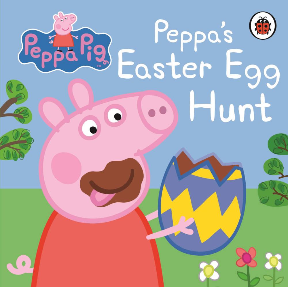 świnka peppa wielkanoc książka dla dzieci po angielsku