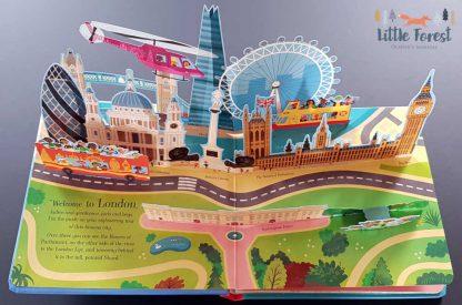 książka dla dzieci o londynie trójwymiarowa po angielsku