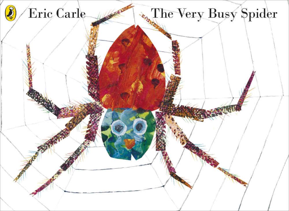 książka pajączek eric carle po angielsku